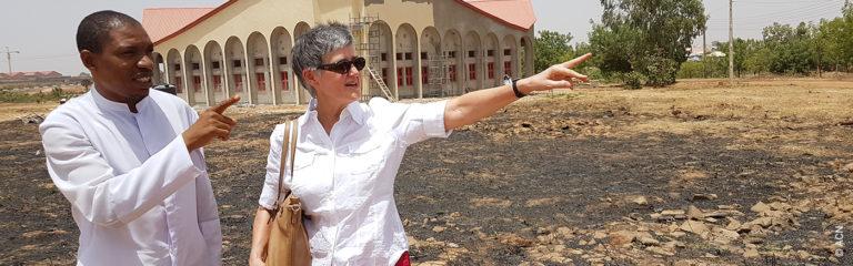 Au terme de 28 ans comme responsable de la section Afrique auprès de L'Aide à l'Église en Détresse, Christine du Coudray prend sa retraite