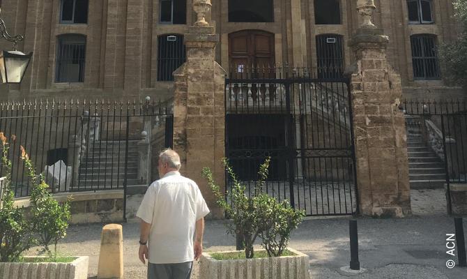 ACN ha apoyado a la comunidad cristiana del Líbano con más de 5,3 millones de euros de ayuda tras la explosión del muelle, en agosto de 2020.