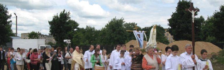Bauhilfe für die katholische Pfarrkirche und das Pfarrzentrum St. Antonius
