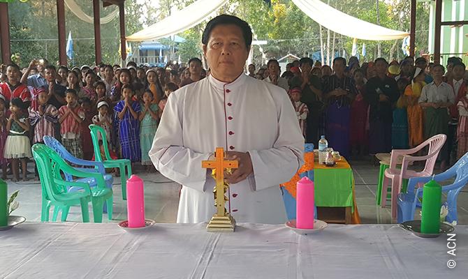 Bishop John Hsane Hgyi from Pathein in Myanmar.