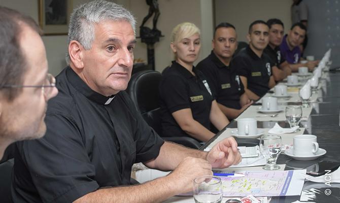 Father Nicolás Daniel Julián, the senior police chaplain for the province of Córdoba in Argentina.