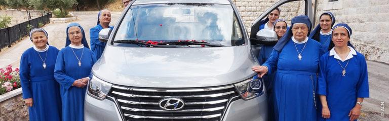 Libanon: Ein Auto für die Arbeit von Ordensschwestern