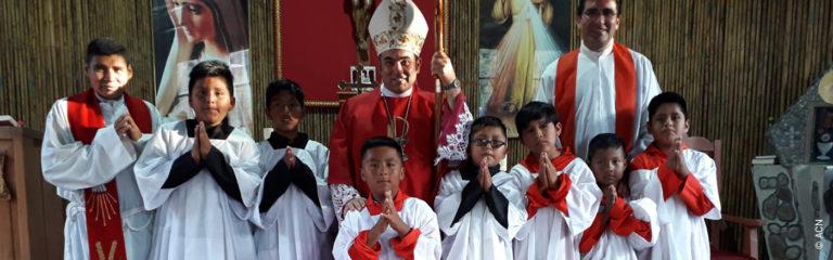 Perú:Una casa parroquial para la parroquia de Massiapo