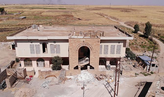 Karamlesh (Iraq) - Centre of Saint Joseph.