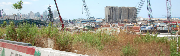 LIBANON: Beirut kämpft darum, ihre Wunden zu heilen