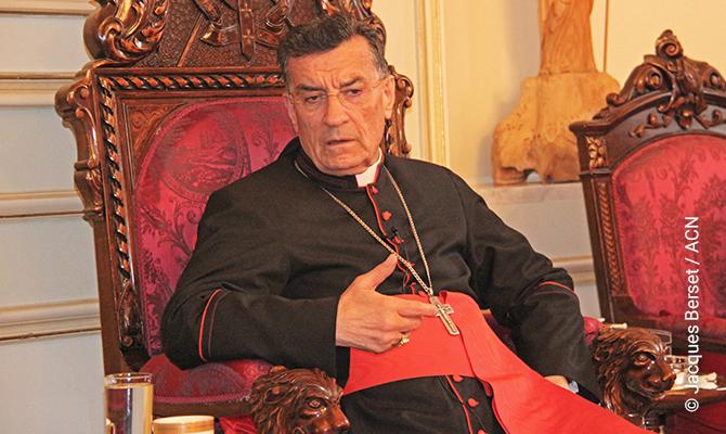 Maronite Patriarch Béchara Raï.