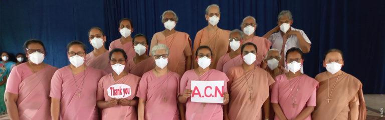 Indien: Schutzmaterial für Ordensschwestern in Westbengalen
