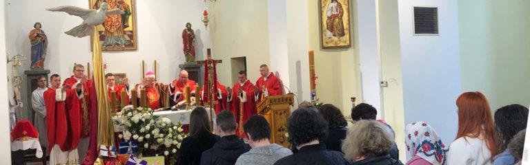 Ucrania: Un equipo de megafonía para la parroquia de San Estanislao en Balta