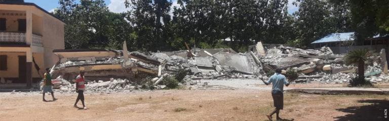 ACN promises 500,000 Euros in emergency aid for Haiti, following the earthquake