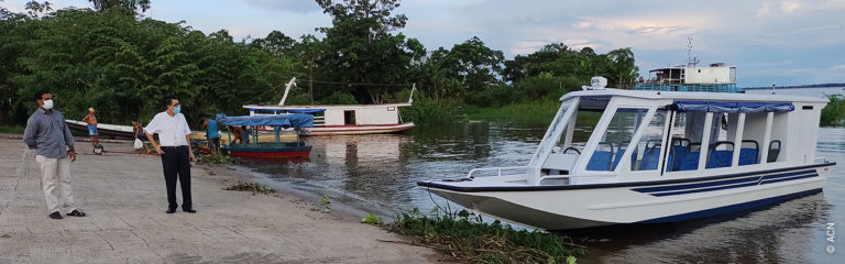 Brazil – a boat to bring Christ to the local people