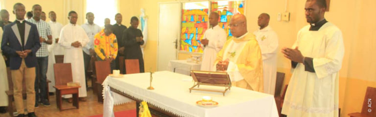 Dem. Rep. of the Congo: Help for the training of 59 seminarians in Kinshasa