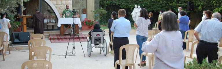 Libanon: Das Karmeliterkloster Hazmieh zieht Menschen aller christlichen Konfessionen an, aber auch Muslime