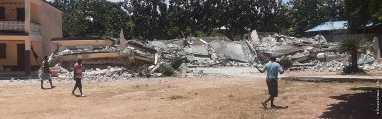 """Haití: """"Nos encontramos aún en la primera fase de ayuda de emergencia"""""""