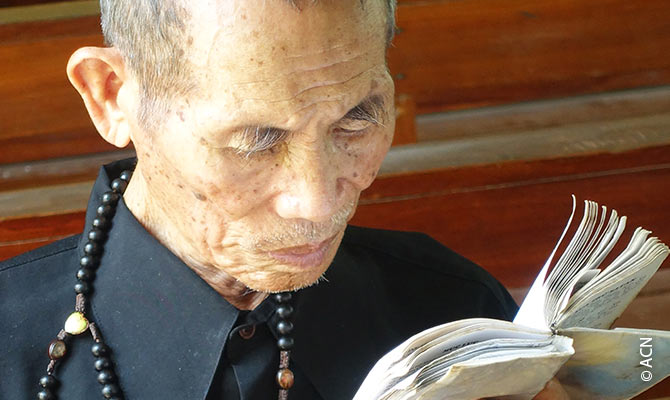 Our help for the Vietnamese Church therefore also includes stipends and training allowances.