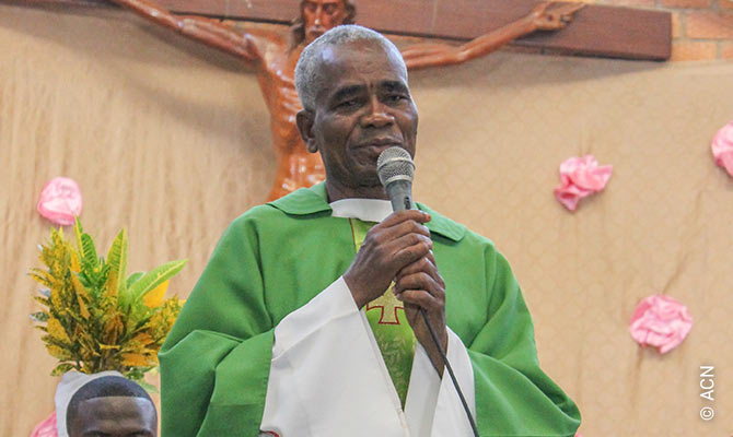 Father Albert Toungoumale-Baba.