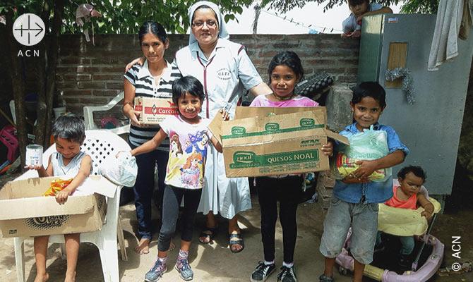 ACN soutient 38 religieuses qui travaillent dans le diocese de P.R.S. Pena.