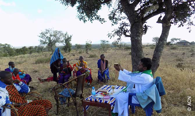 With Mass stipends, we support the livelihoods of priests worldwide, like here in the Moita Bwawani Mission, Tanzania.