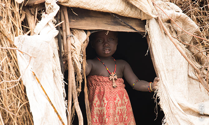 Girl from the Dessanech tribe in the village of Oromate, where people have only recently become acquainted with the Gospel.
